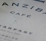 Zanzibar Menu
