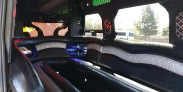Aall In Limo Party Bus Interior