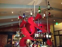 The extraordinary bar decor