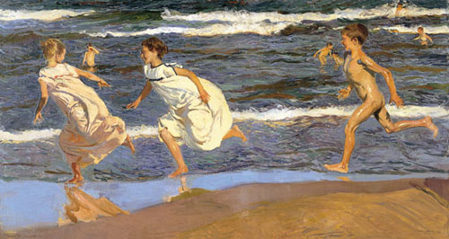 2_-SOROLLA-AMERICA-RUNNING-ALONG-THE-BEACH-MUSEO-ASTURIAS