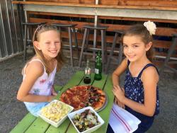 girls-at-picnic-table