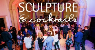 Sculpture and Cocktails