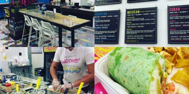 New To East Village: Como Ceviche! Making a Splash Near Petco Park