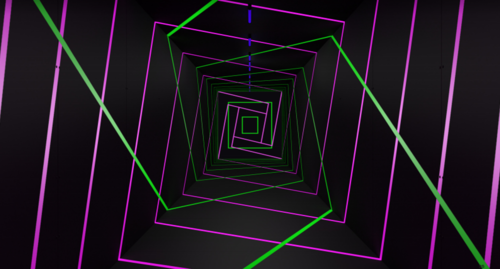 NeonTunnelRendering