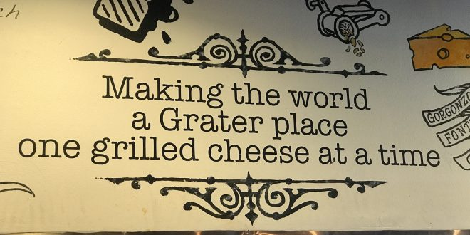 Eat Great at Grater Grilled Cheese