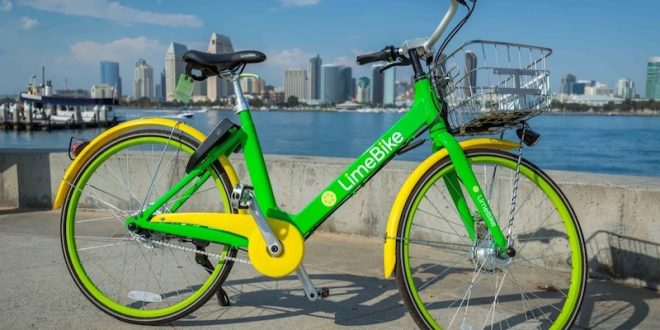 New bike, e-bike and e-scooter sharing LimeBike launched