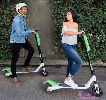 Limebike Lime-S e-Scooters