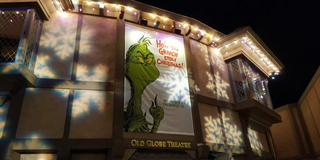 The Grinch Steals Christmas Once Again at The Old Globe